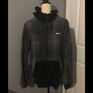Nike illusion print hoodie